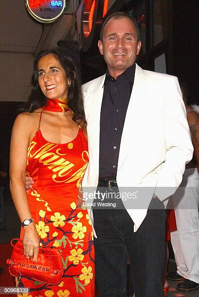 Major Charles Ingram and his partner Diana Ingram arrive to celebrate Jennifer Ellison's Heaven and Hell themed 21st birthday party at Jewel on June...