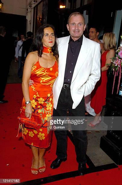 Major Charles Ingram and Partner during Jennifer Ellison 21st Birthday Party at Jewel Nightclub in London Great Britain