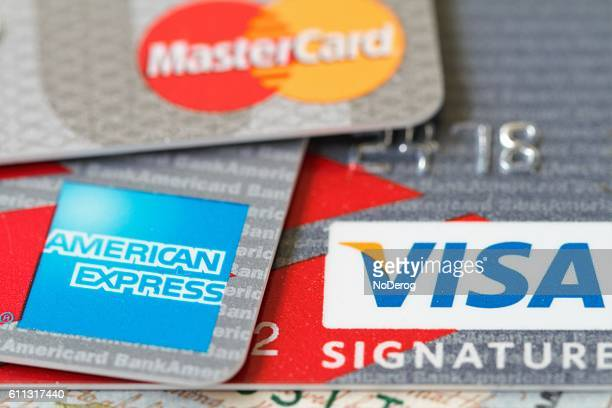 Major credit cards: Visa, Master Card and American Express