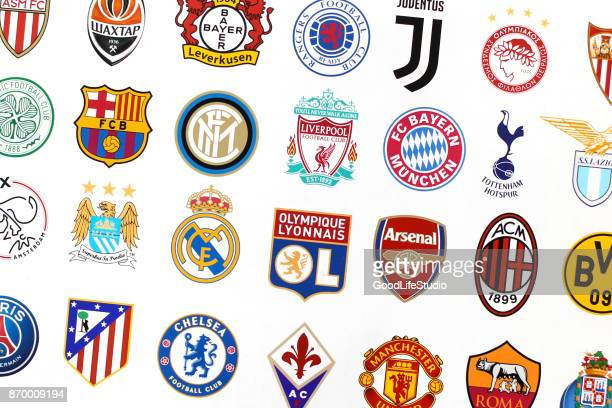 Major European soccer clubs
