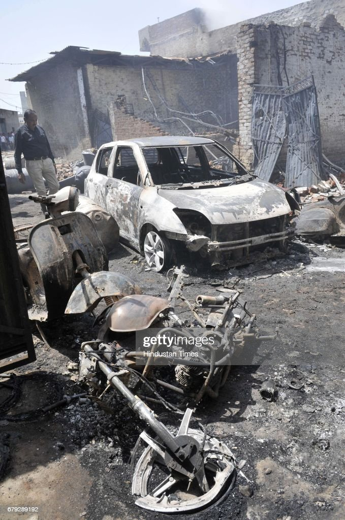 A major fire broke out at Ashok Plastics at Cheema Chowk on May 5 2017 in Ludhiana India Eight to 10 fire tenders of Ludhiana Municipal Corporation...