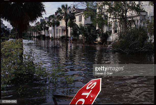 Major flooding was just some of the damage caused by Hurricane Hugo as it rolled through Charleston