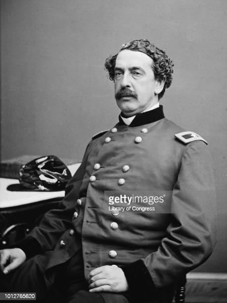 Major General Abner Doubleday poses for a portrait on November 29 1862