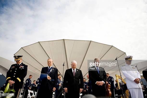 Major General Douglas Carver US Army Chief of Chaplains former US Secretary of Defense Donald Rumsfeld US Secretary of Defense Robert Gates US...