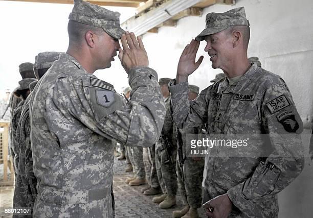 Major General Jeffrey J. Schloesser , Commanding General, 101st Airborne Division and Combined Joint Task Force-76 Operation Enduring Freedom returns...