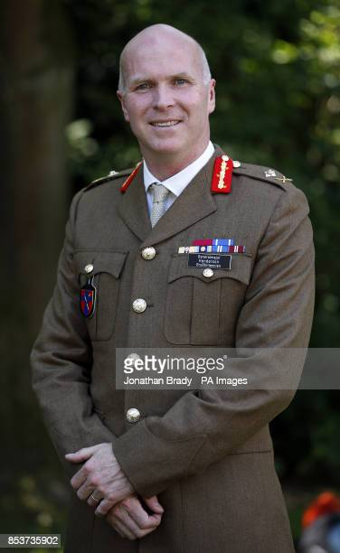 Major General John Henderson at Hammersmith Barracks Herford Germany The man responsible for orchestrating the move of 12500 British soldiers and...