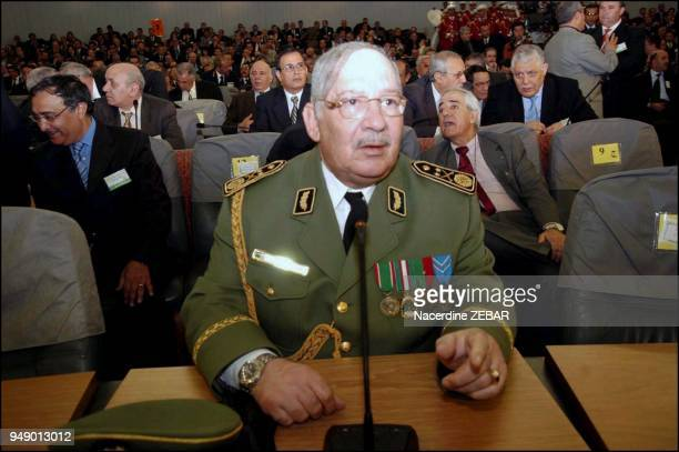 Major General Salah Ahmed Gaid Chief of Staff of the Algerian army