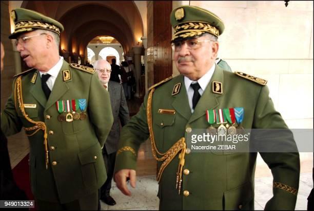 Major General Salah Ahmed Gaid Chief of Staff of the Algerian army