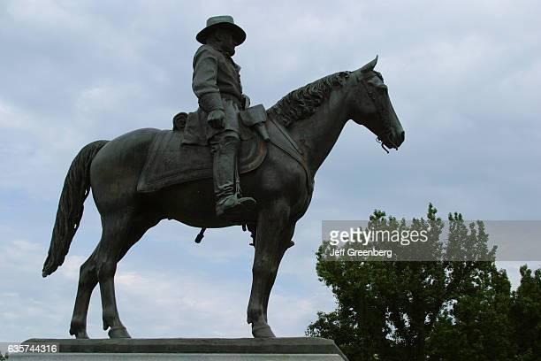 Major General Ulysses S Grant statue at Vicksburg National Military Park