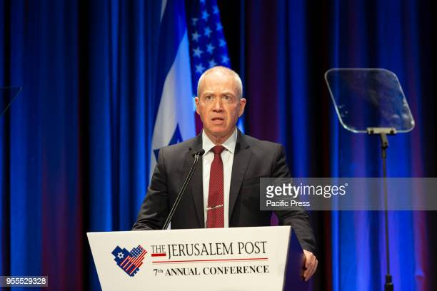 Major General Yoav Gallant Israel Minister of Construction and Housing during 7th Annual Jerusalem Post Conference at Marriott Marquis Hotel.