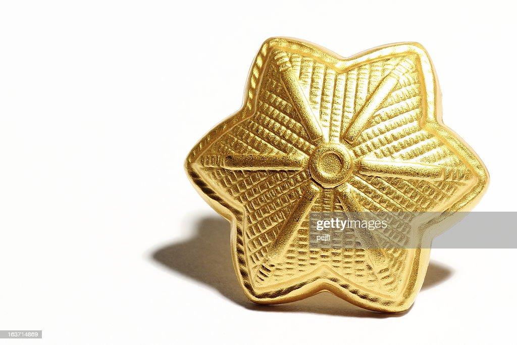 Major golden star : Stock Photo