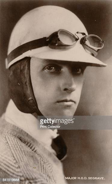 Major HOD Segrave' c1925 Sir Henry O'Neil de Hane Segrave set three land speed records and the water speed record He was the first person to hold...
