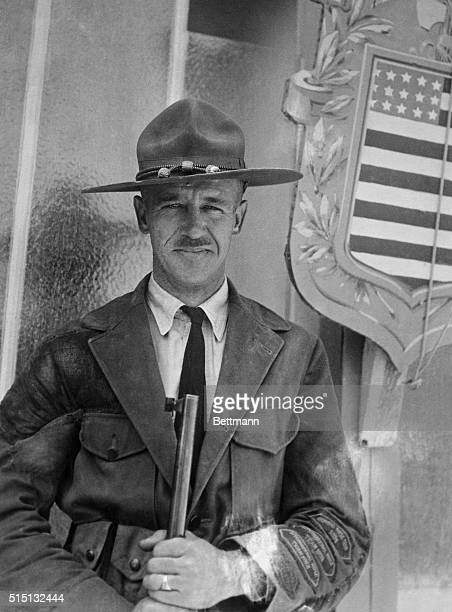 Major J. K. Boles of the U. S. Rifle team who won the individual shoot at a running deer target is shown. The deer by the way was not a live one, it...