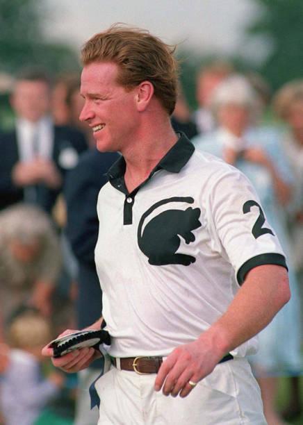 Major James Hewitt At The Royal Berkshire Polo Club