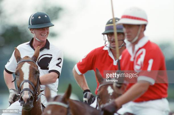 Major James Hewitt on the polo field Picture taken 16th July 1991