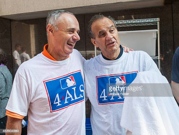Major League Baseball Chief Operating Officer and Commissionerelect Rob Manfred and Executive Vice President Baseball Operations Joe Torre are...