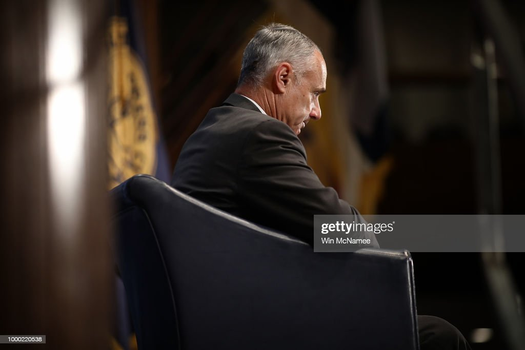 MLB Commissioner Rob Manfred Discusses State Of Baseball At National Press Club