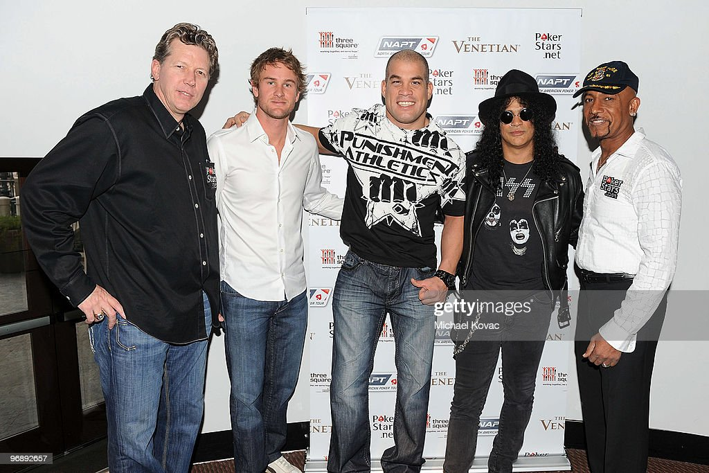 Pokerstars.net's Celebrity Charity Poker Tournament