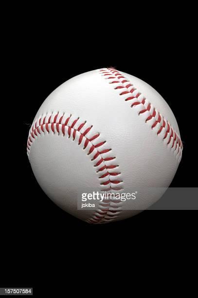 major league baseball, auf schwarzem hintergrund - major league baseball stock-fotos und bilder