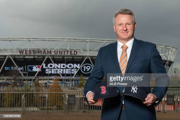 Major League Baseball today named Mitel the title partner of the London Series In picture Richard Roberts Vice President for UK/Ireland and EMEA...