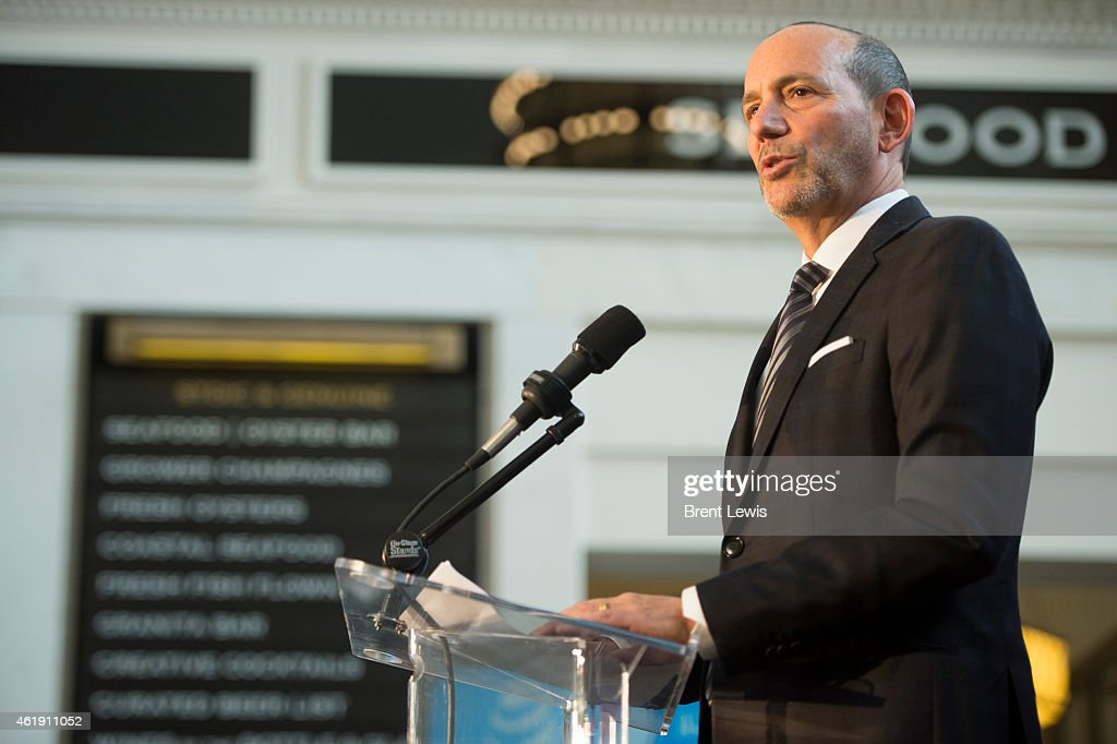 MLS ALL-STAR GAME COMING BACK TO DENVER : News Photo