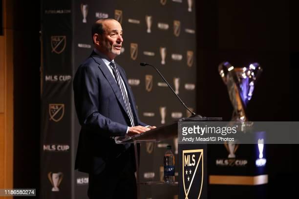 Major League Soccer Commissioner Don Garber at Grand Hyatt Seattle on November 08, 2019 in Seattle, Washington.