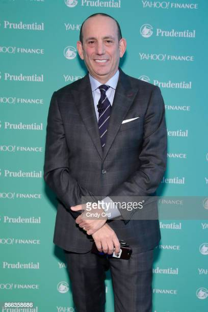 Major League Soccer Commissioner Don Garber attends the Yahoo Finance All Markets Summit on October 25, 2017 in New York City.