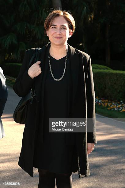 Major of Barcelona city Ada Colau attends the reception to the Onda Awards 2015 winners press conference at the Palauet Albeniz on November 24 2015...