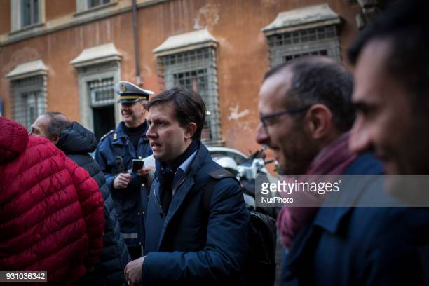 Major of Florence and Democratic Party member Dario Nardella attends the party's directorate meeting in Rome after former Italian Premier Matteo...