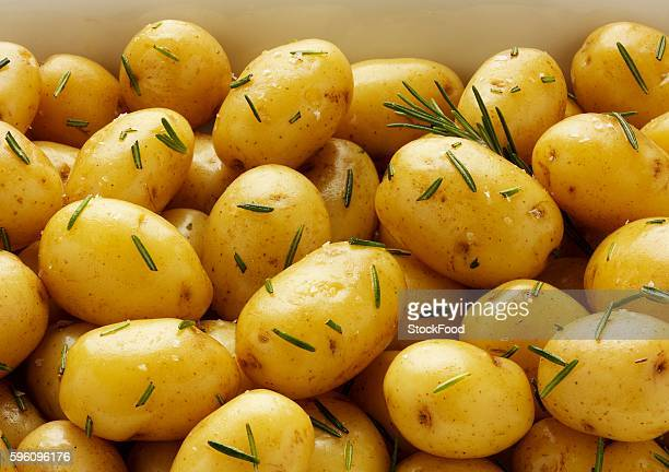 Majorca potatoes with salt and rosemary