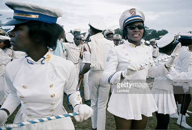 Majorettes Trinidad West Indies 27th February 1967