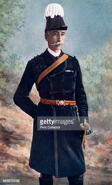 MajorGeneral John Talbot Coke commanding 10th Brigade South Africa Field Force 1902 Portrait from Celebrities of the Army published by George Newnes