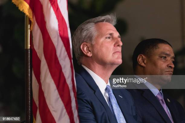 Majority Leader Kevin McCarthy and Rep Cedric Richmond chairman of the Black Congressional Caucus host Commemoration of the Bicentennial of the Birth...