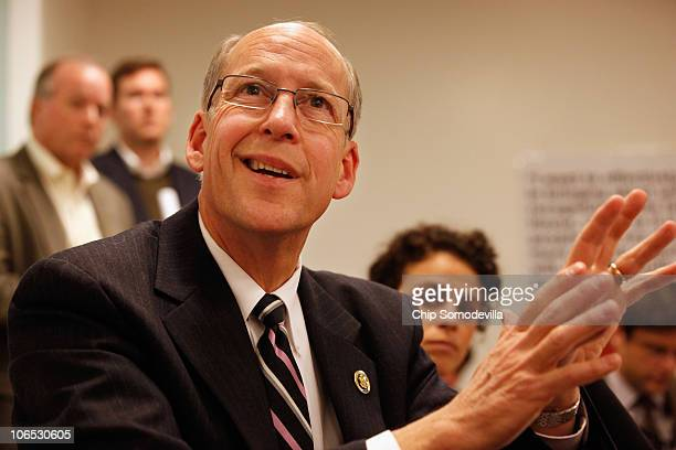 Majority Transition Committee Chairman Greg Walden answers reporters' questions about the upcoming transition of power in the House of...