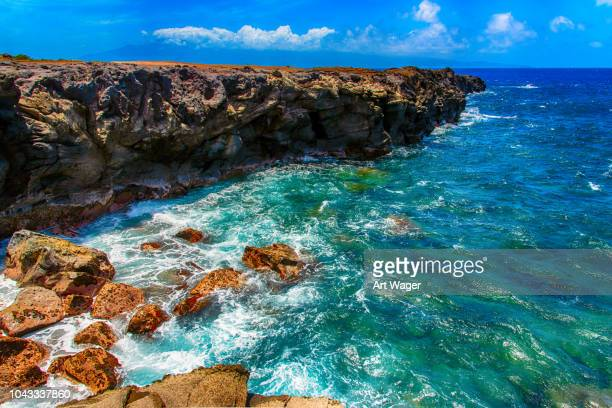 makaluapuna point, maui - maui stock pictures, royalty-free photos & images