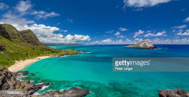 makapuu beach,oahu,honolulu,hawaii,usa - オアフ島 ストックフォトと画像