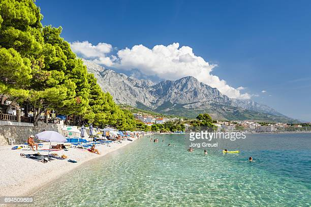 Makarska Riviera and Biokovo mountain range
