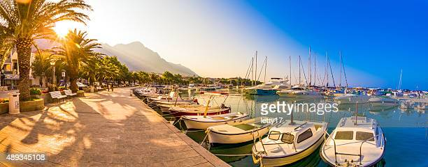 makarska riviera croatia - adriatic sea stock pictures, royalty-free photos & images