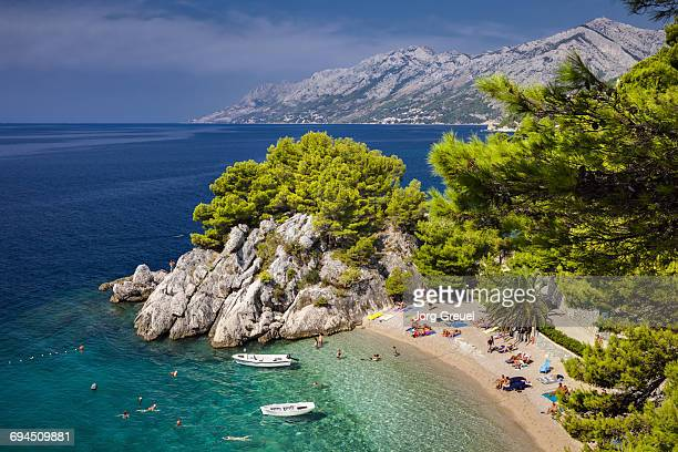 makarska riviera - croatia stock pictures, royalty-free photos & images