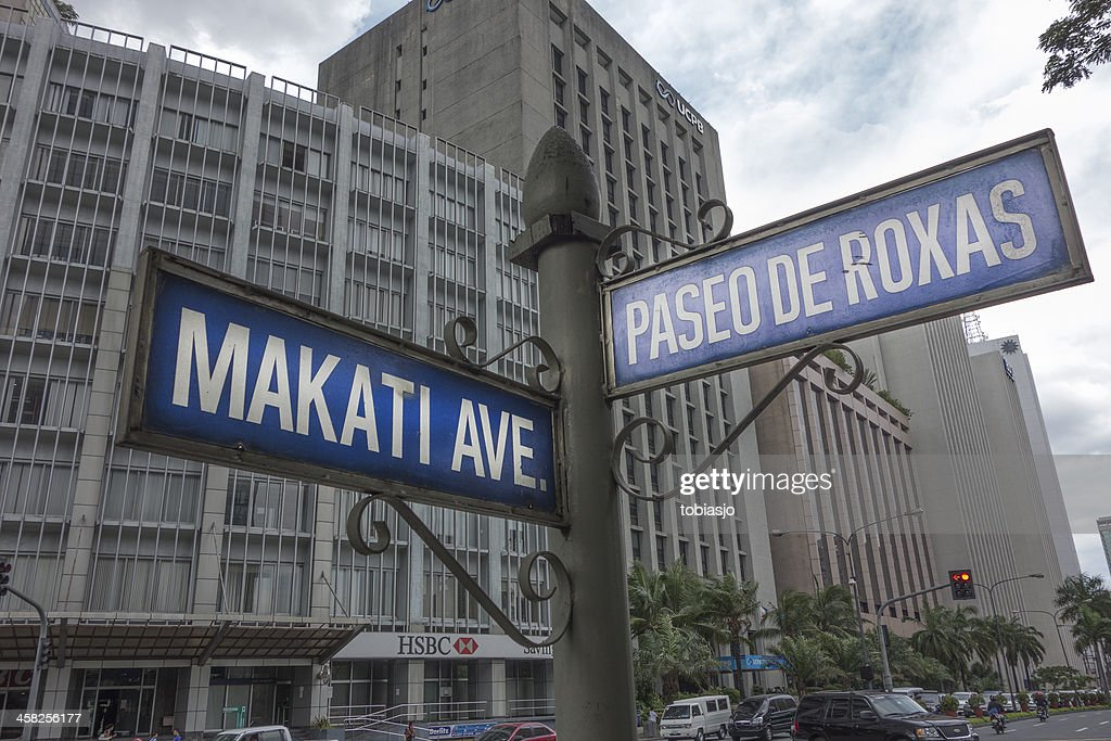 Makati Avenue Metro Manila Stock Photo - Getty Images