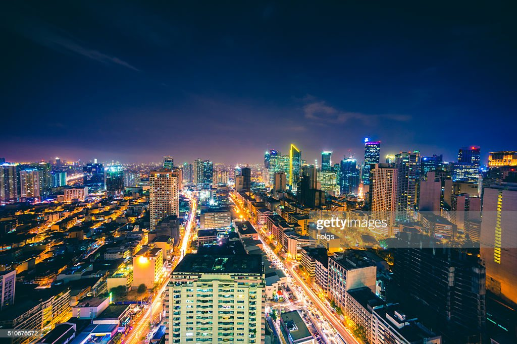 Makati skyline in metro manila philippines stock photo getty images makati skyline in metro manila philippines stock photo sciox Image collections