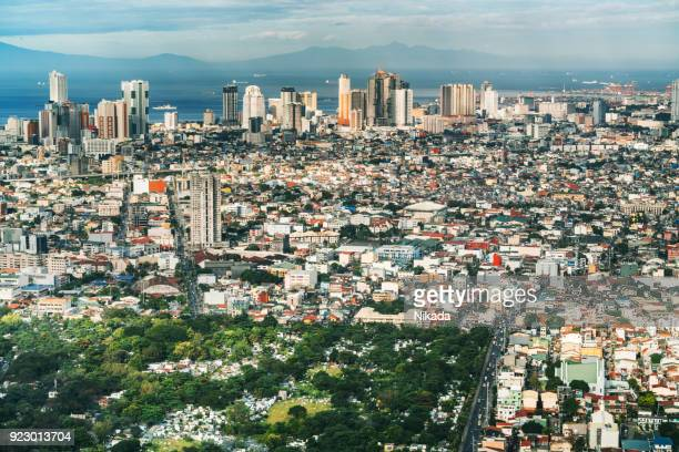 Skyline von Makati, Metro Manila - Philippinen