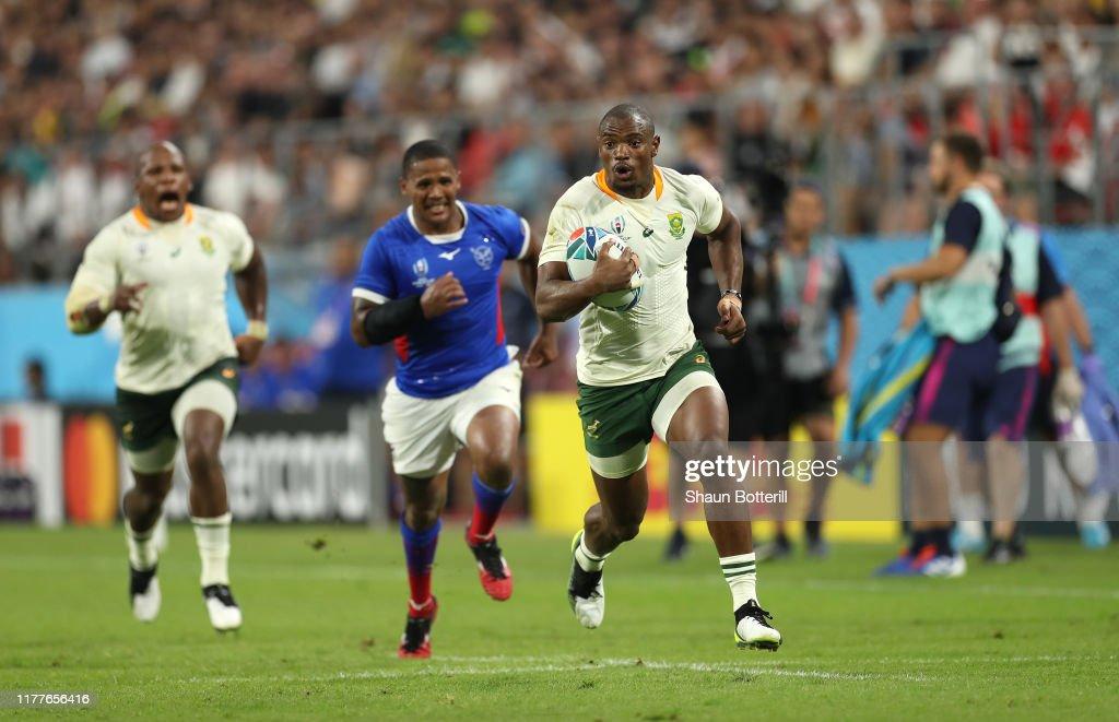 South Africa v Namibia - Rugby World Cup 2019: Group B : Fotografía de noticias