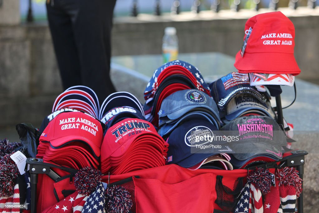 Make America Great Again Hats : Stock Photo