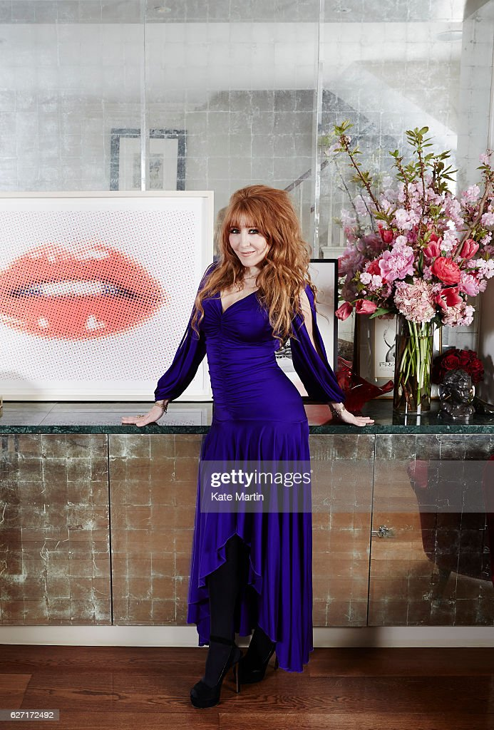 Make artist Charlotte Tilbury is photographed on April 29, 2015 in London, England.