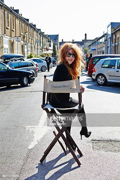Make artist Charlotte Tilbury is photographed on April 29 2015 in London England