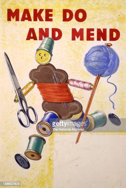 Make Do And Mend poster 19391945