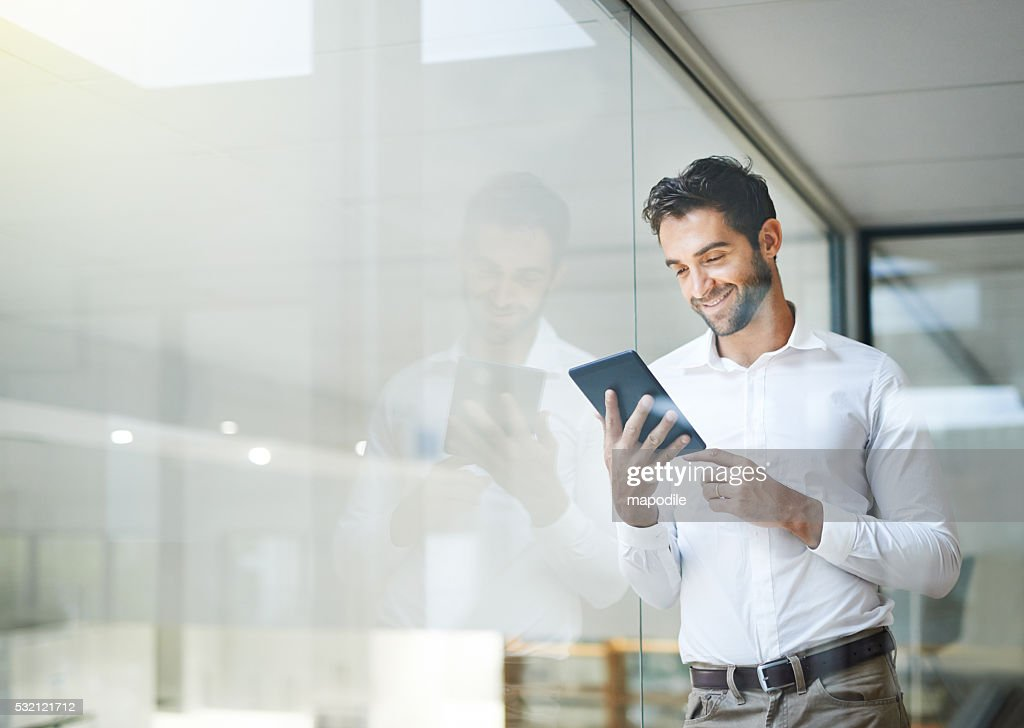 Make sure your business is portable : Stock Photo