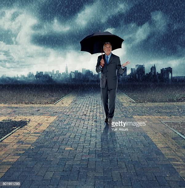 Assurez-vous que vos séjours d'affaires pendant la tempête, coffre-fort