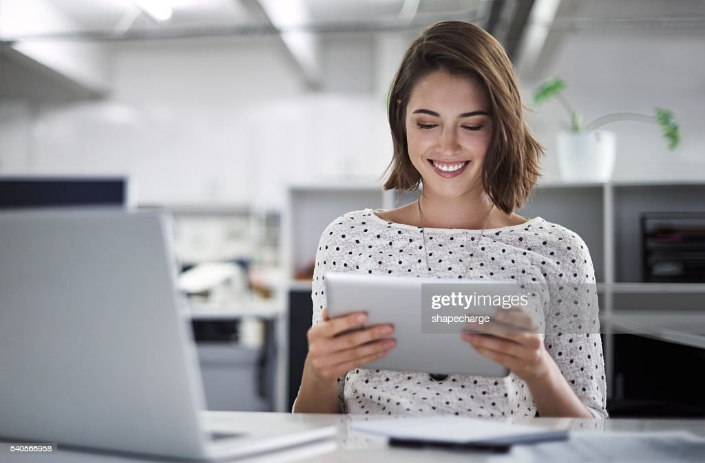 Make technology work for you : Stock Photo